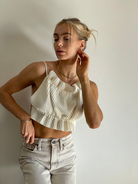 Au Revoir Crop Top