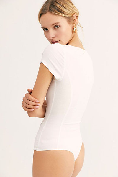 Deep Conversations Bodysuit by Free People