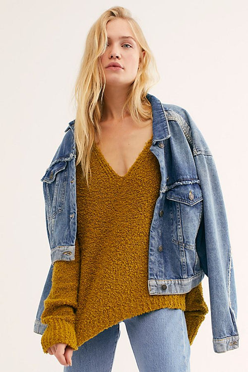 Finders Keepers V-Neck Sweater by Free People - FINAL SALE