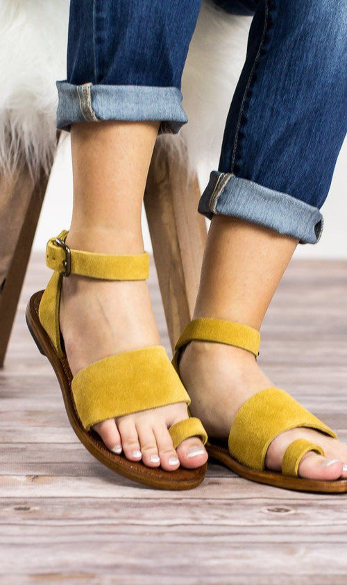 Torrence Flat Sandal by Free People - FINAL SALE