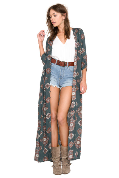 Avryl Woven Duster by Amuse Society