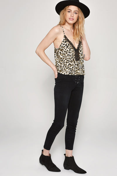 Leave Me Wild Cami Tank by Amuse Society - FINAL SALE
