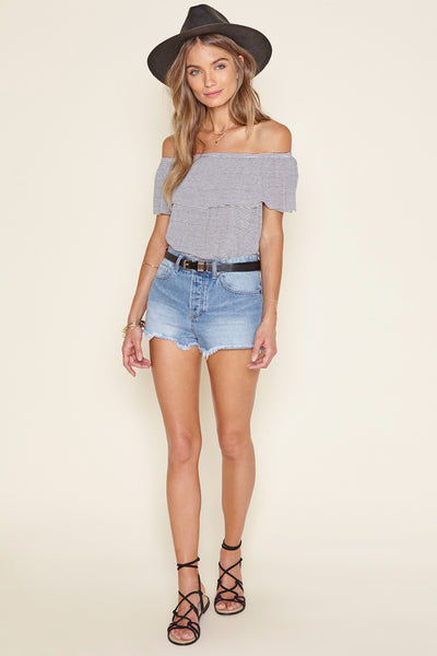 Copeland Off The Shoulder Knit Top by Amuse Society