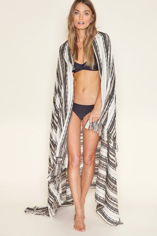 Cloud Break Beach Blanket by Amuse Society