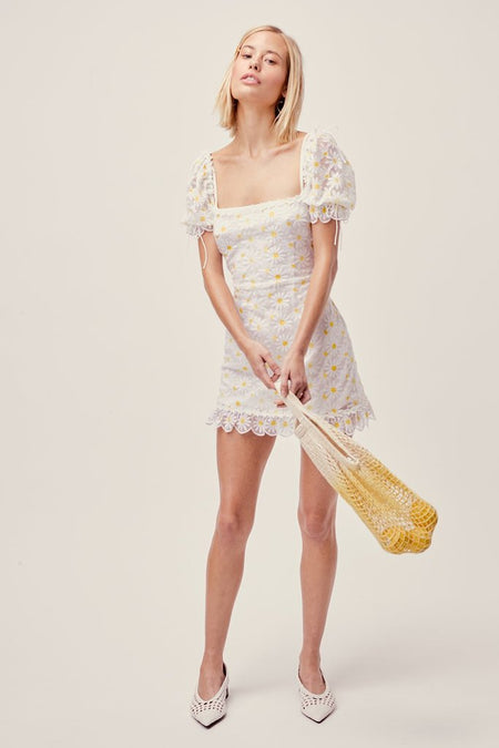 Mabel Mini Dress by For Love & Lemons - FINAL SALE