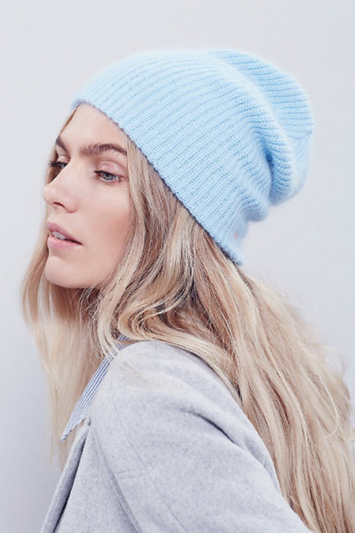 Axel Fuzzy Rib Beanie by Free People