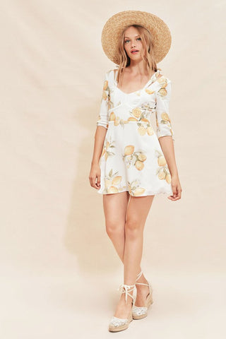 Limonada Mini Dress by For Love & Lemons