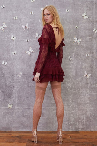 Daphne Lace Mini Dress by For Love & Lemons
