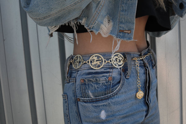 Zodiac Belt by East N West Label