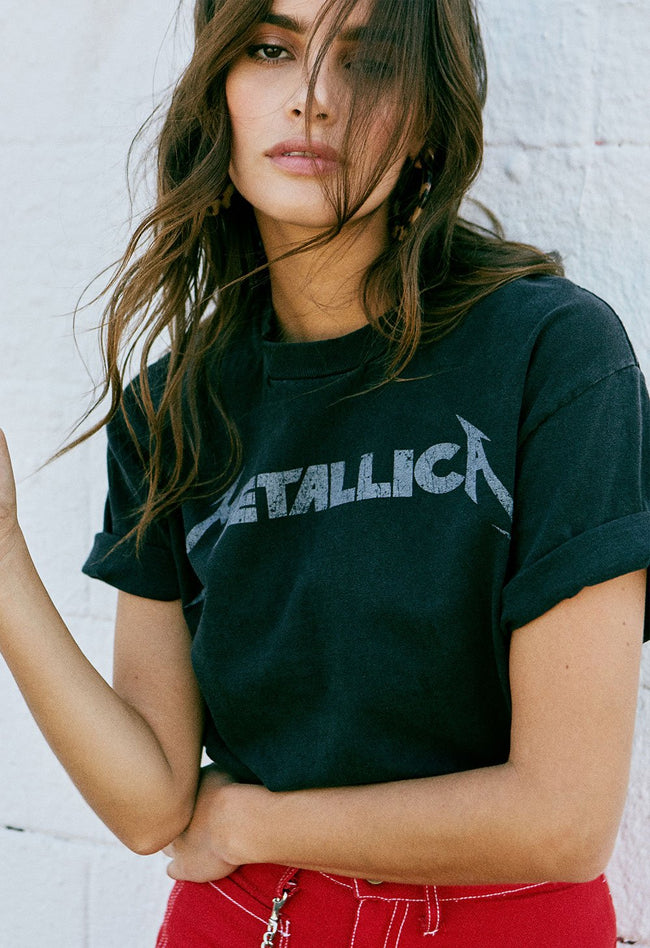 Metallica Classic Oversized Tee by Daydreamer