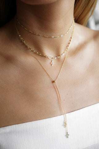 Crossed Out Necklace