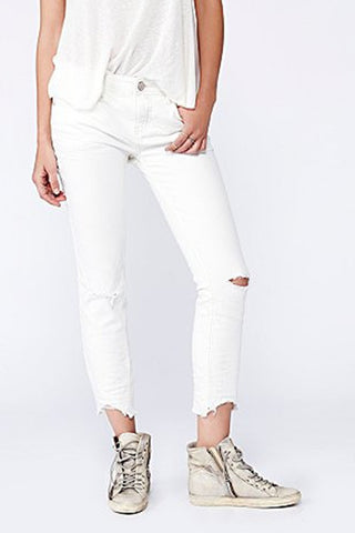 Destroyed Ankle Skinny by Free People - FINAL SALE