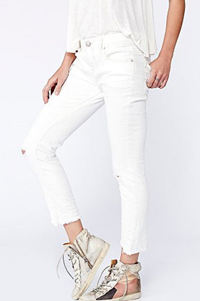 Destroyed Ankle Skinny by Free People- FINAL SALE