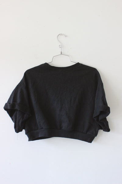 Fruit Of The Loom Crop Sweater by Luna B Vintage