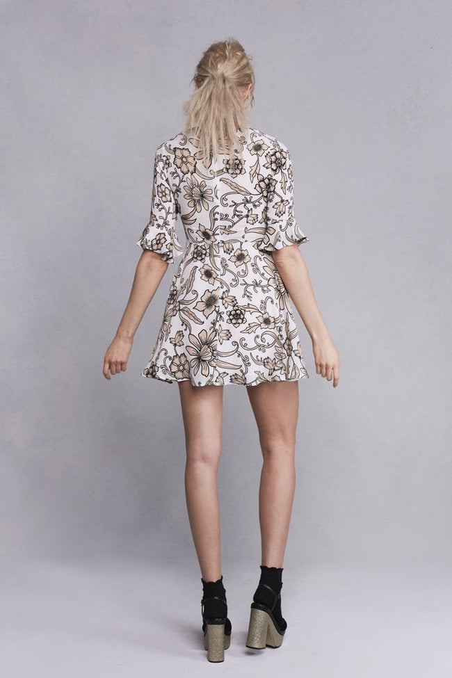 Ayla Laced-Up Dress by For Love & Lemons - FINAL SALE
