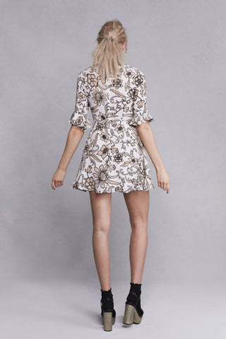 Ayla Laced-Up Dress by For Love & Lemons