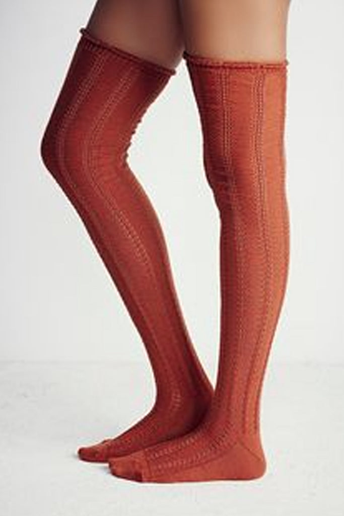 Over The Knee Socks by Free People- FINAL SALE
