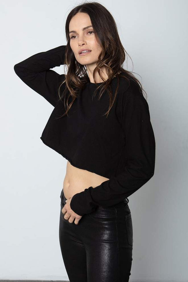 The Boyfriend Crop Long Sleeve by Stillwater