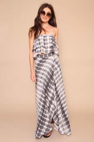 Washed Away Maxi Skirt