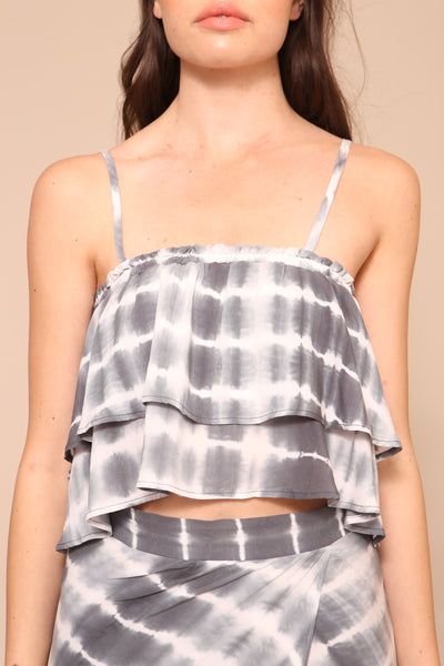 Washed Away Crop Top - FINAL SALE