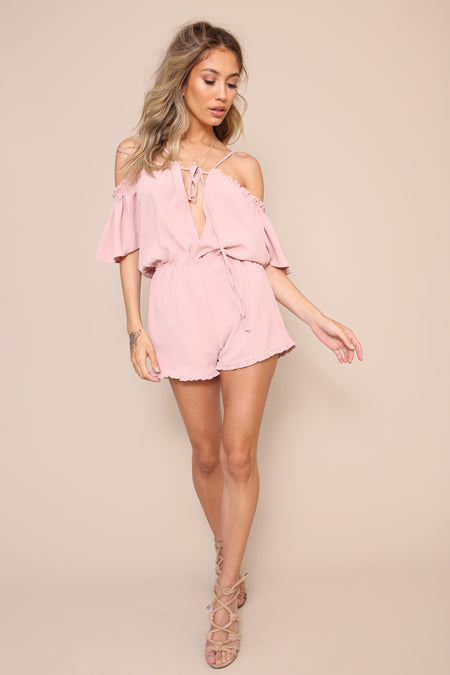 Sunday Lover Romper by Amuse Society - FINAL SALE