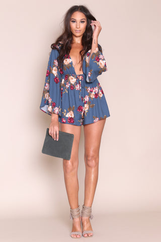 Sweet As Can V Romper