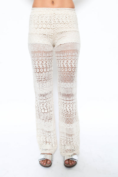 Laurel Crochet Pant - FINAL SALE