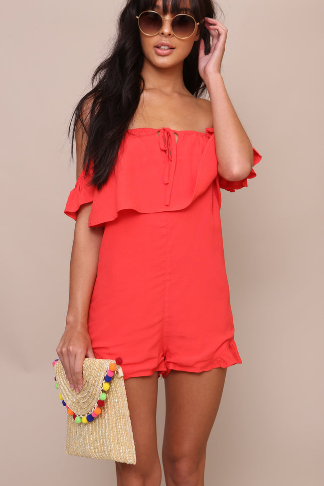 Cherry Bomb Romper - FINAL SALE