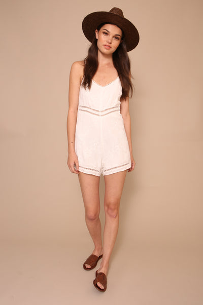 Spring It On Romper - FINAL SALE