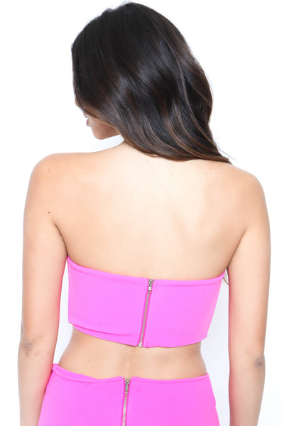 All Dolled Up Crop Top - FINAL SALE