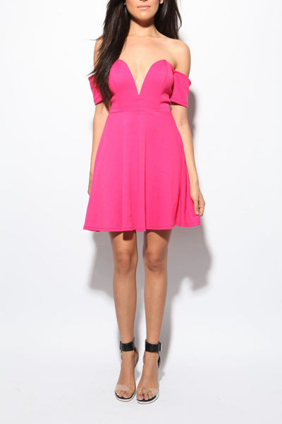 Get Nasty Flare Dress - FINAL SALE