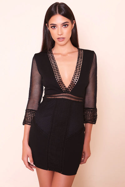 Worst Behavior Dress - FINAL SALE