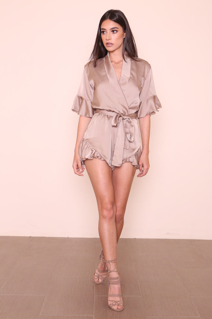 Meet Me In Como Romper by Lioness - FINAL SALE
