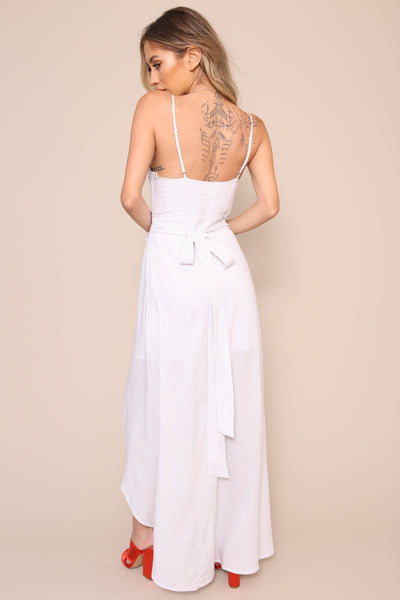Yacht Life Maxi Dress - FINAL SALE