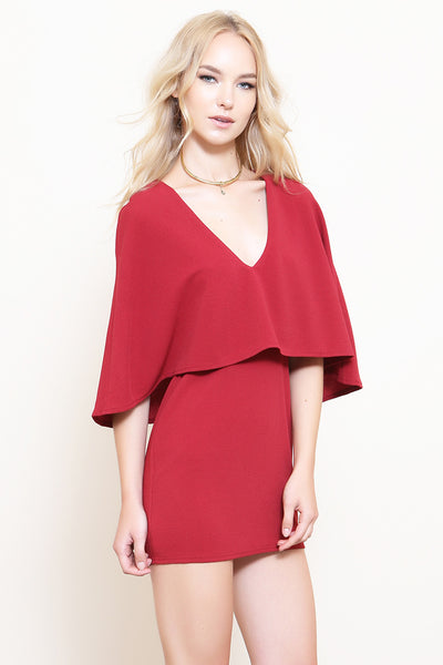 Vixen Cape Dress - FINAL SALE