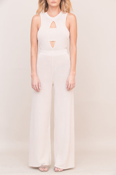 Exposed Jumpsuit