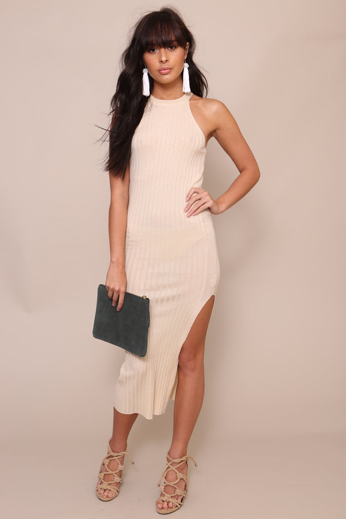 Sleeveless Knit Dress by Moon River - FINAL SALE