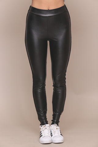 Heavy Metal Lover Leather Legging - FINAL SALE