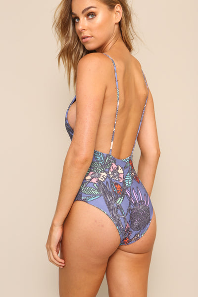 Midnight In Paris One Piece by Aila Blue - FINAL SALE
