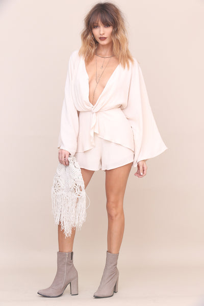 Follow Me Down Romper - FINAL SALE