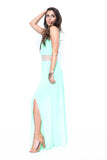 Mint To Be Maxi Dress - FINAL SALE