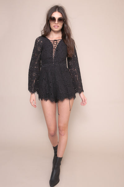 Stitched Together Romper - FINAL SALE