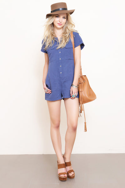 Hard Knock Romper - FINAL SALE