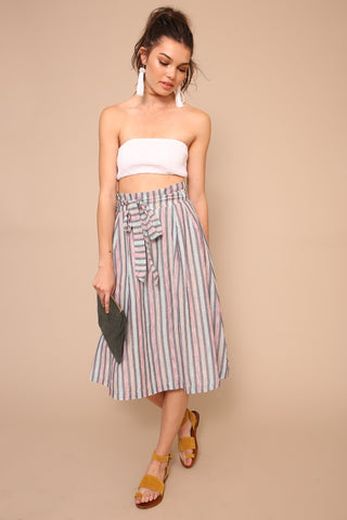 True Colors Midi Skirt