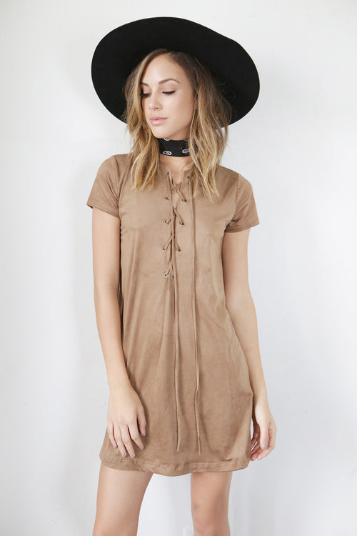 Silverado Suede Dress - FINAL SALE