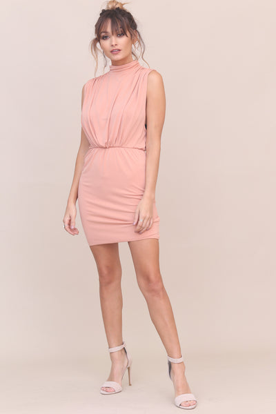 Mock It To Me Dress - FINAL SALE