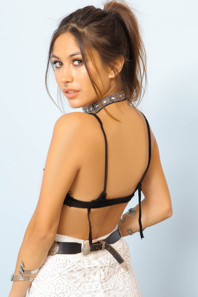 Brave Crochet Bralette by Indah - FINAL SALE