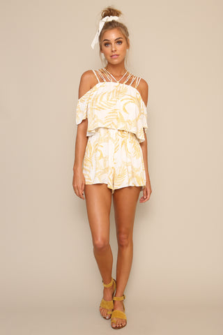 Paradise Strappy Playsuit by Minkpink