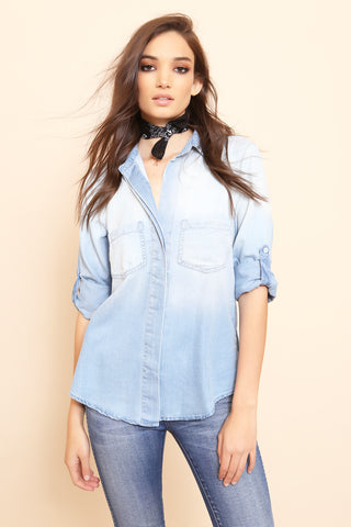 Ride On Chambray Shirt - FINAL SALE