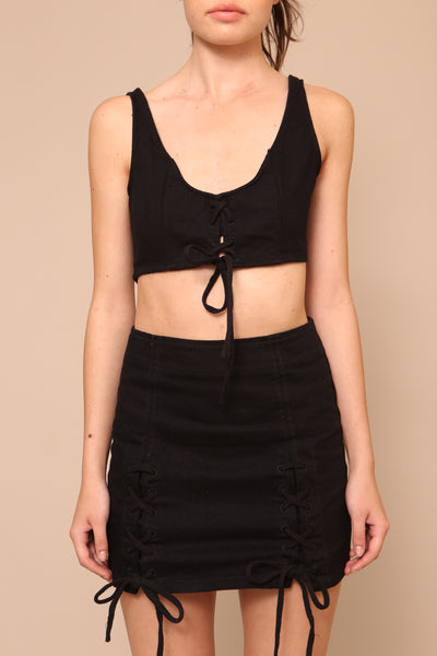 Most Wanted Crop Top - FINAL SALE